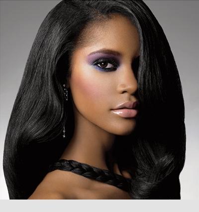 black hair styles photos