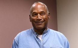 O.J. Simpson arrives for his parole hearing at Lovelock Correctional Centre in Lovelock