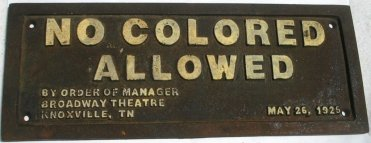 no-colored-allowed-black-americana-cast-iron-sign-10x4_220665307171