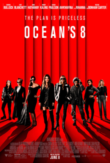 Oceans 8, Drowning the Black Female Body